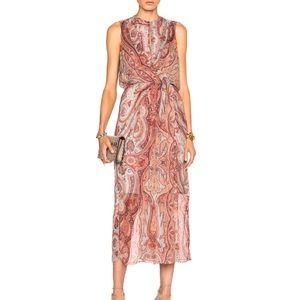 Zimmermann Rhythm Drape Dress, NWT